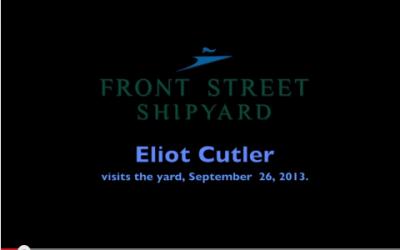 Eliot Cutler Visits Front Street Shipyard