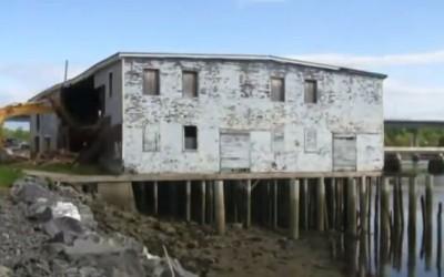 Front Street Shipyard: Demolition