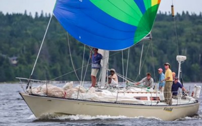 The Penobscot Pursuit Regatta 2014 sponsored by Front Street Shipyard