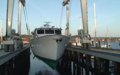 Stoneface Major Refit at Front Street Shipyard