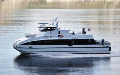 Front Street Shipyard Partners with Norwegian Ferry Builder