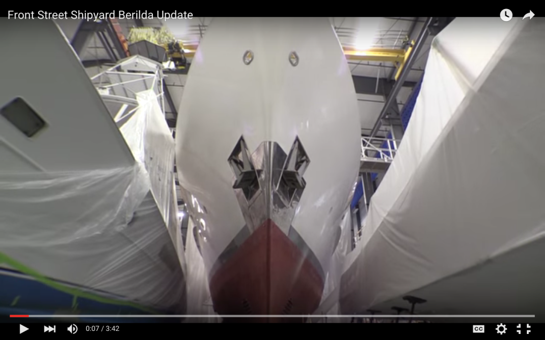 BERILDA Refit Update: Winter 2016