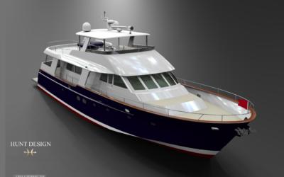 82′ Flush-Deck Motoryacht