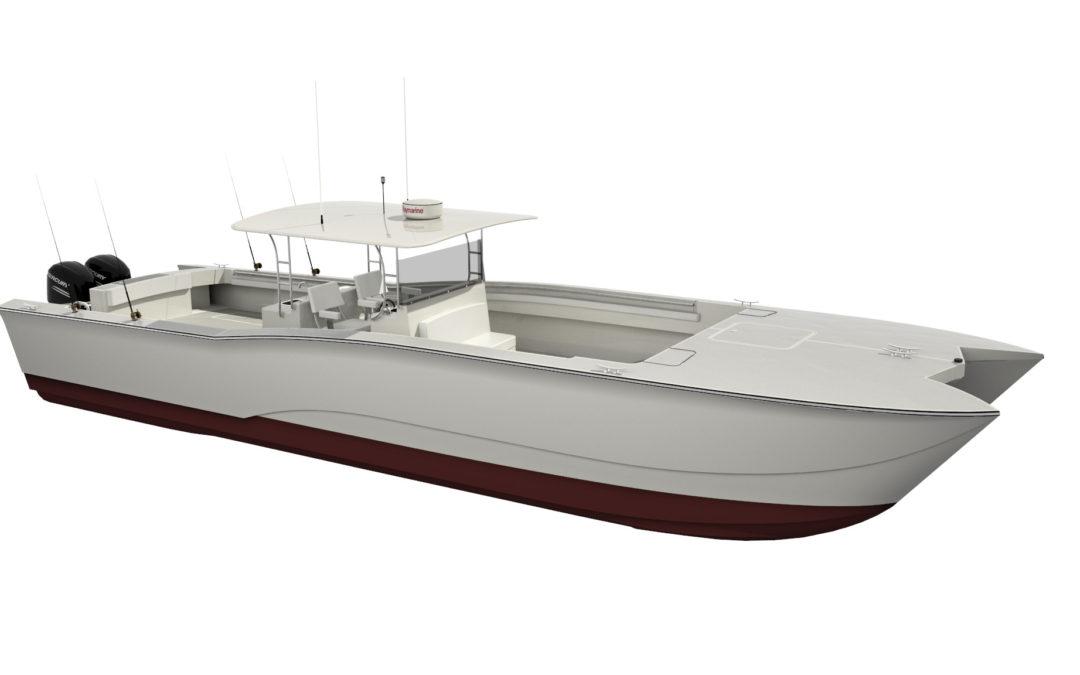 Front Street Shipyard Begins Construction on Power Catamaran