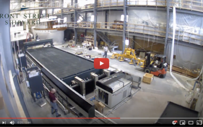 Video: Time-Lapse Installation of the 5-Axis 3D Waterjet Machine