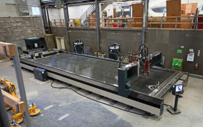 Maine's Largest Waterjet Cutting Machine Now Operational at Front Street Shipyard