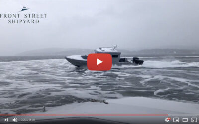 Video: Sea Trials for 42-ft ONR Boat